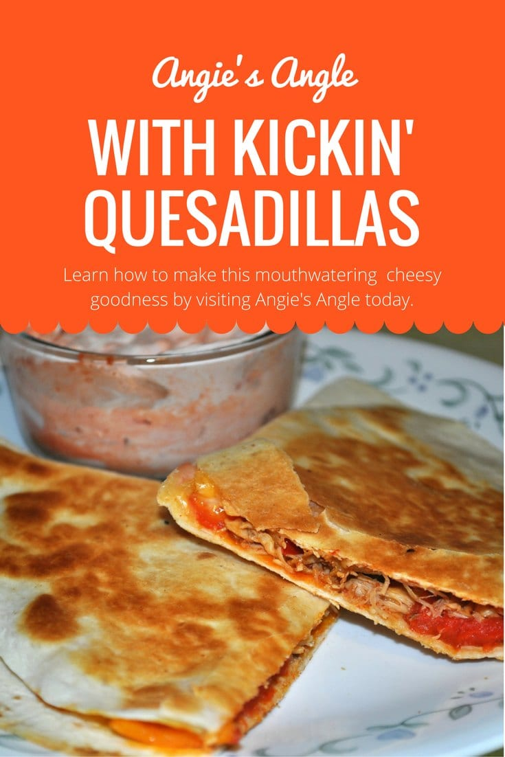 Kickin' Quesadillas made into a Mezzetta Recipe