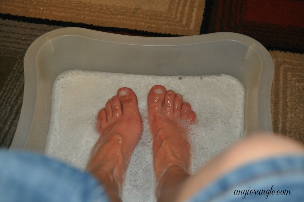 Catch the Moment 365 - Day 17 - Soaking Feet