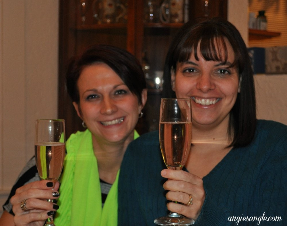 Catch the Moment 365 - Day 365 - New Years Eve Toast
