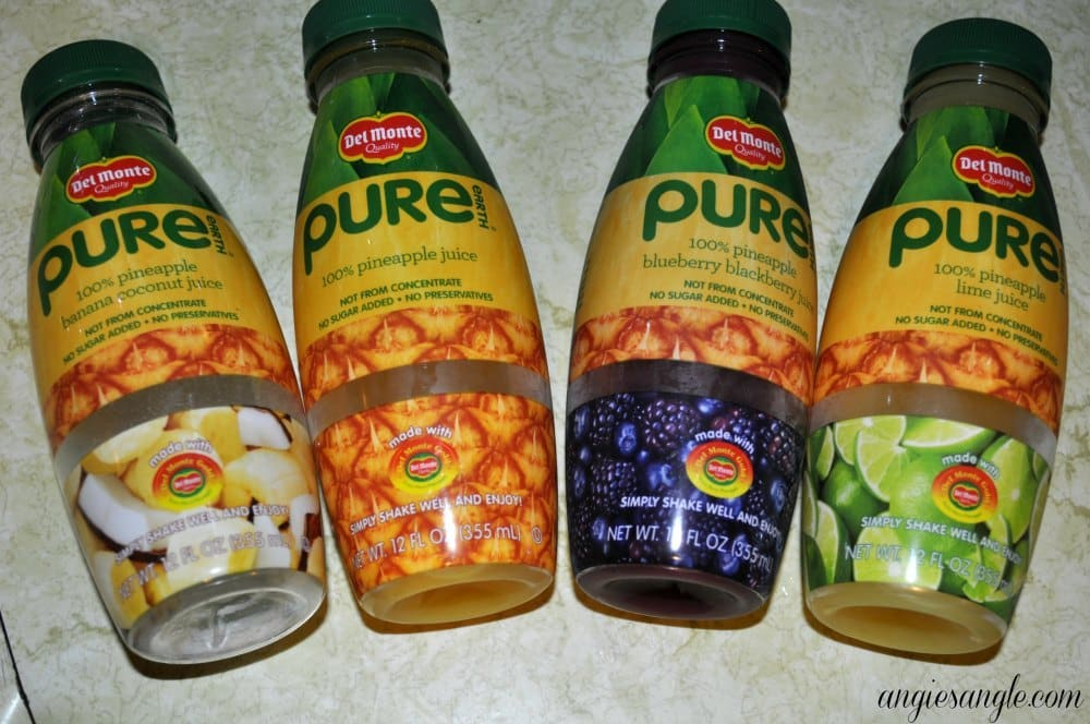 Pure Earth Juices from Del Monte