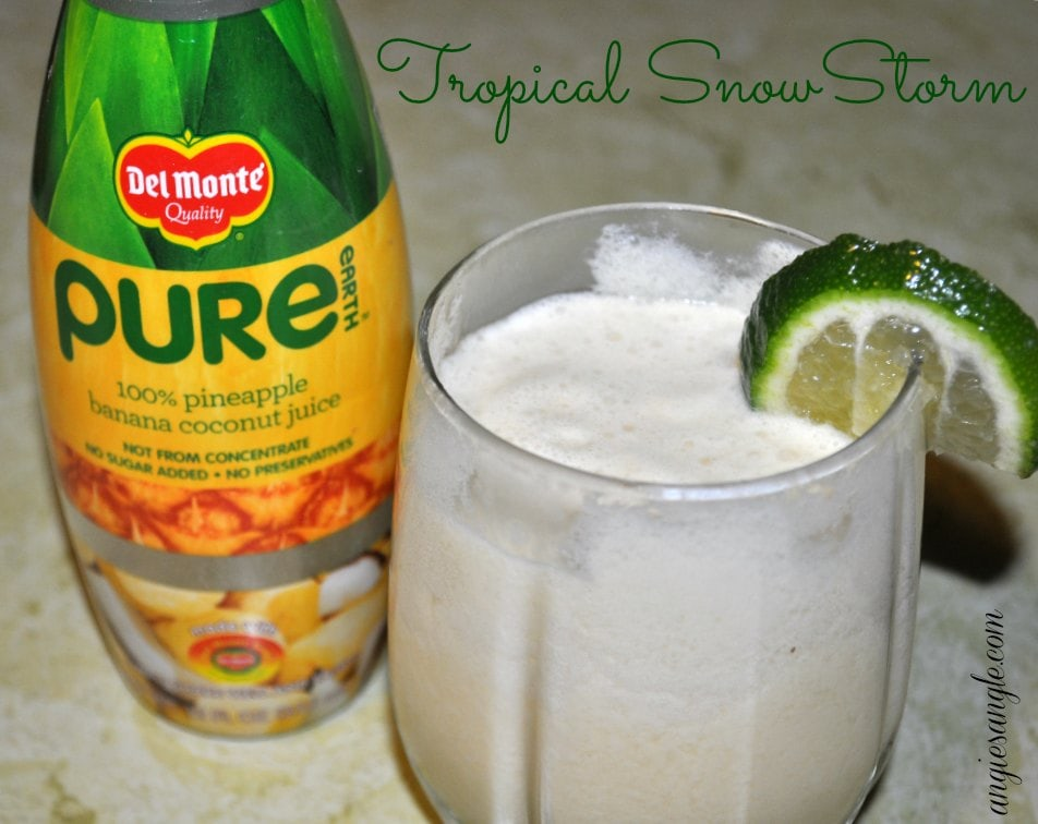 Tropical SnowStorm with Pure Earth Juice #PureEarthJuice
