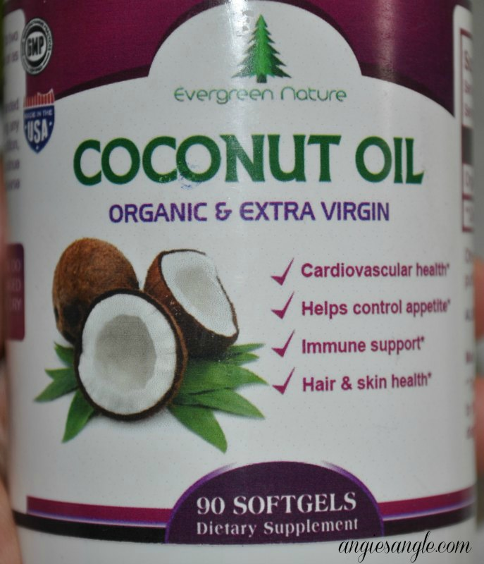 Coconut Oil Softgels
