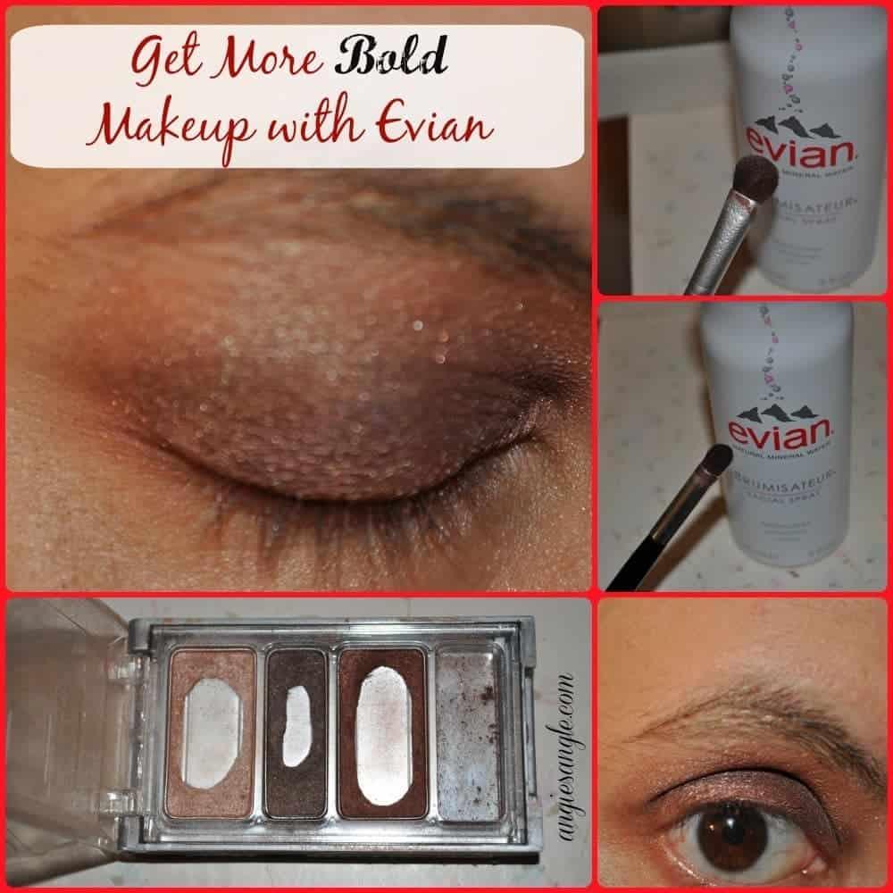 Get Bold Makeup Looks with Evian Facial Spray #BeautyMonday #evianspray