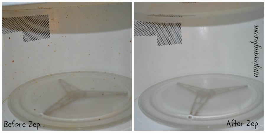 how to clean out inside of microwave