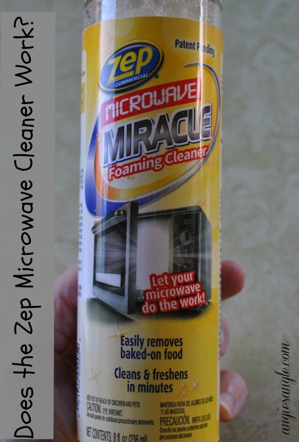 Zep Microwave Miracle Foaming Cleaner – Does it Work? #MicrowaveMiracle