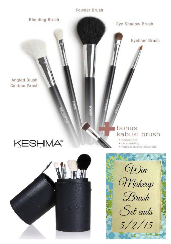 Spring Has Sprung Hop – Win Makeup Brushes #Giveaway ends 5/2