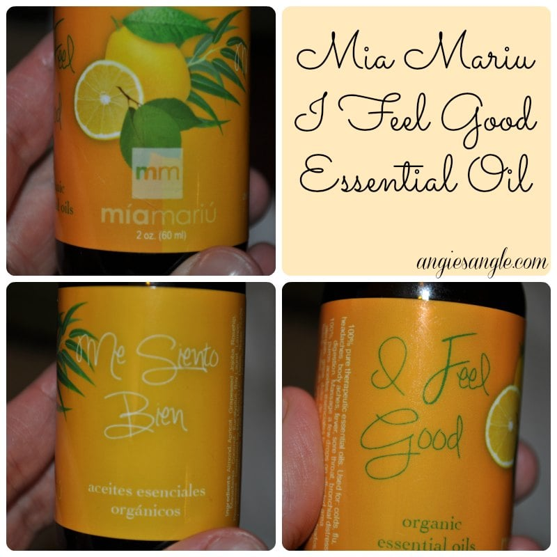 Mia Mariu I Feel Good Essential Oil