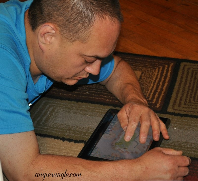 Catch the Moment 365 - Day 132 - Jason Playing Tribez