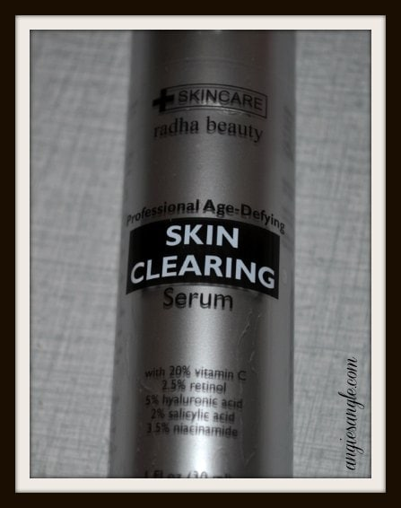 Radha Beauty's Clearing Serum #BeautyMonday