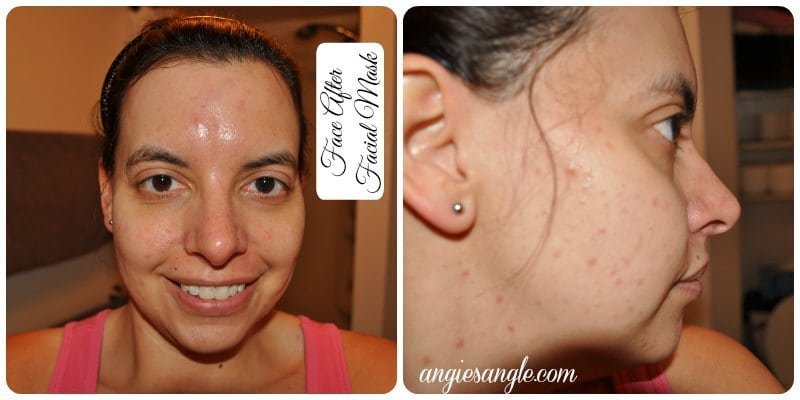 Moroccan Ghassoul Clay Mask - After
