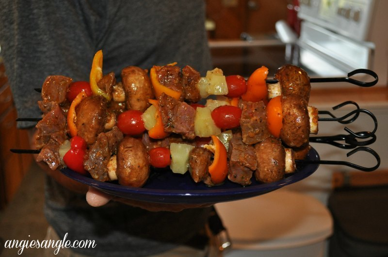Catch the Moment 365 - Day 185 - Kabobs