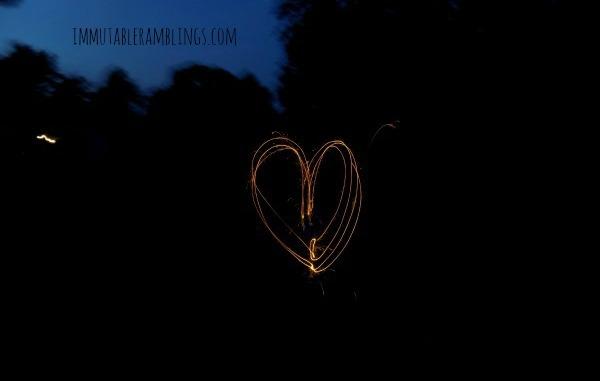 Project 52 - Patriotic - Favorite - Heart-Sparkler
