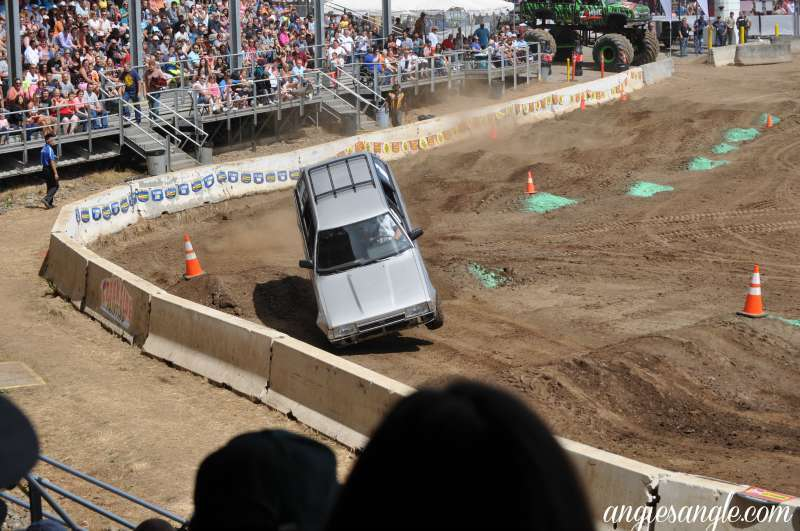 Catch the Moment 365 - Day 227 - Tuff Trucks at the Clark County Fair