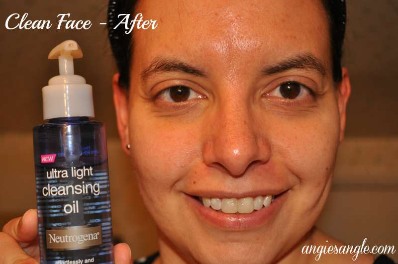 Neutrogena Cleansing Oil - After