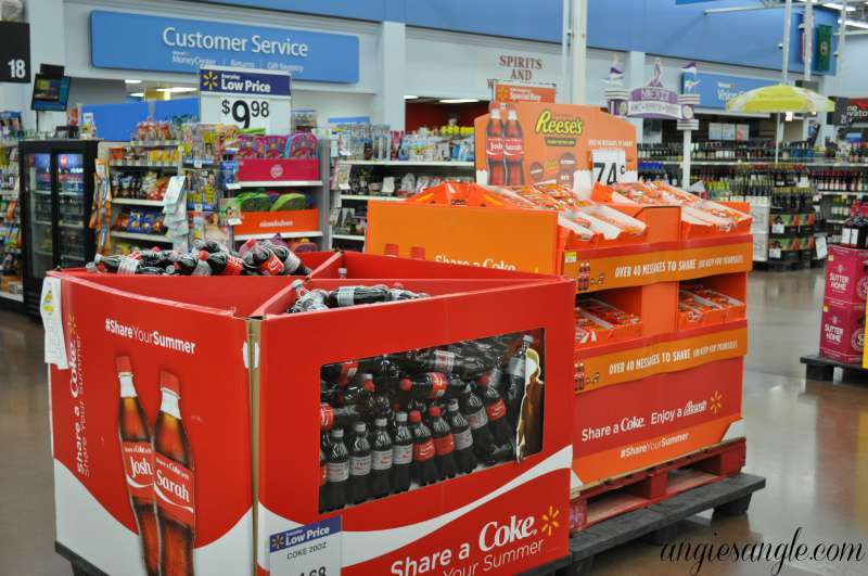 Pampering and Sharing With The Best Friend - Coke and Reeses Display 2