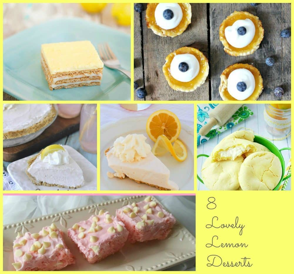 8 Lemon Desserts to Enjoy