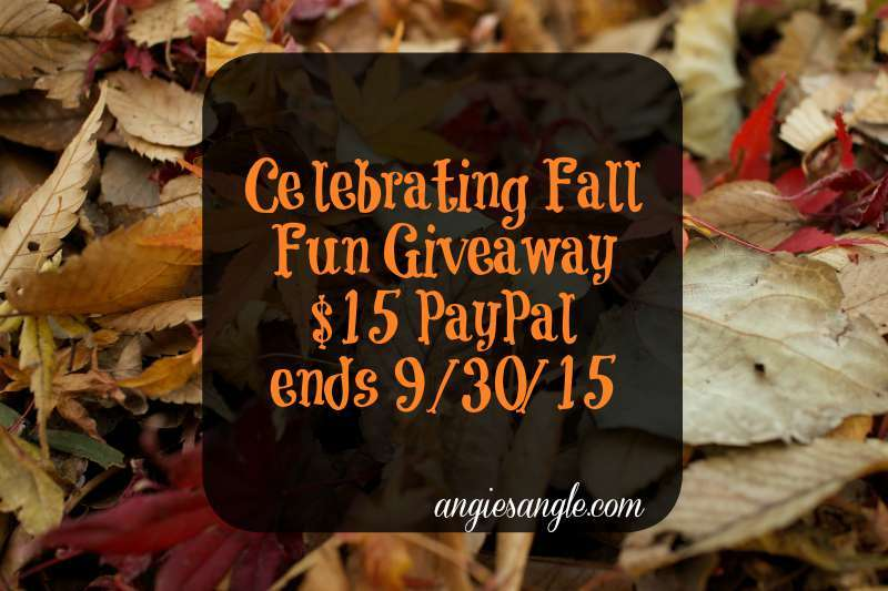Celebrating Fall Fun #Giveaway ends 9/30