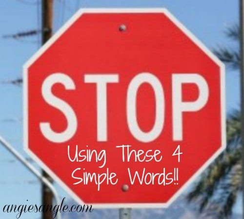 4 Simple Words That Need To Stop Now