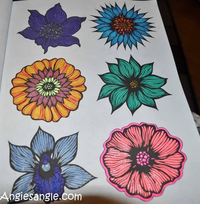 Catch the Moment 365 - Day 333 - Coloring with Gel Pens