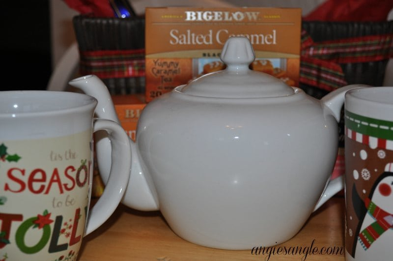 How To Make A Tea Lovers Basket - Teapot