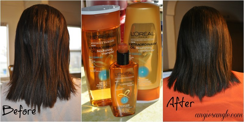 My Results With L'Oreal Extraordinary Oil Hair Care
