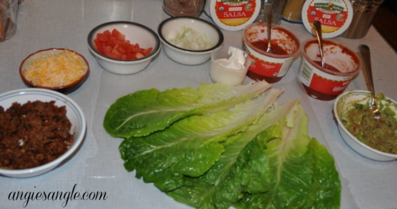 Lettuce Tacos That Pop - Taco Bar