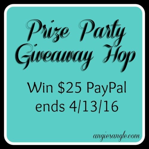 Prize Party Giveaway Hop – Win $25 PayPal ends 4/13 #PrizeParty