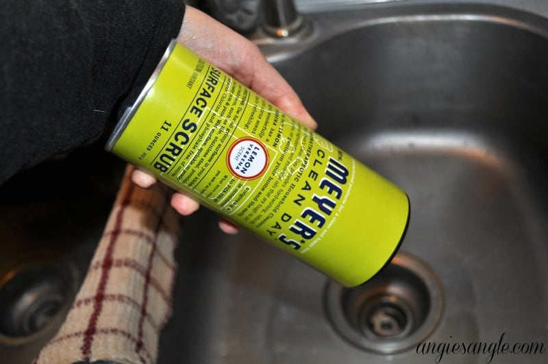 Take The Chore Out Of Cleaning - Mrs Meyers Clean Day Surface Scrub
