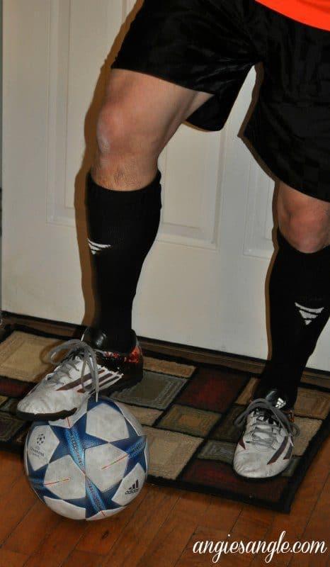 Vetra Soccer Socks - Standing on Ball