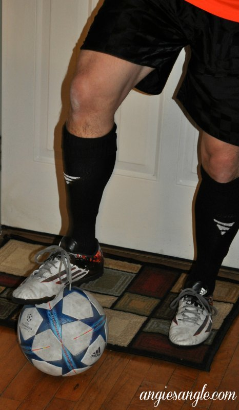 Vetra Soccer Socks - Standing on Ball