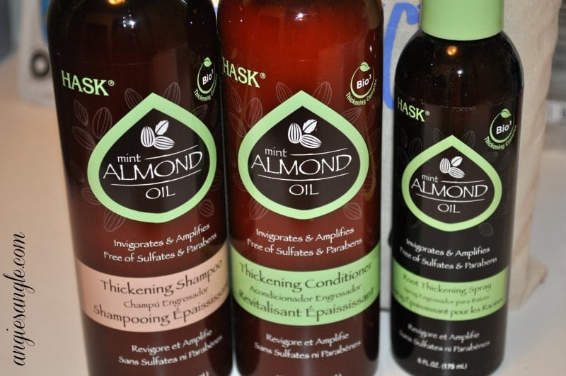 Hask Mint Almond Oil Thickening Trio #BeautyMonday