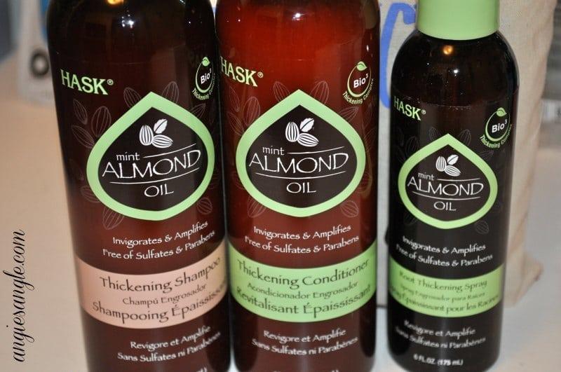 Hask Mint Almond Oil