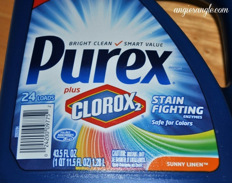 Stain Fighting With Purex Plus Clorox 2 #PurexPlusClorox2 #spon