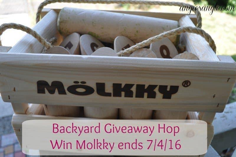 Backyard Giveaway Hop - Win Molkky
