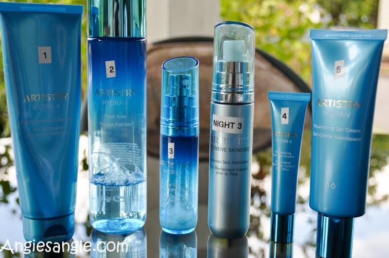 Hydrating Skin with Artistry Hydra-V Skin Care Line