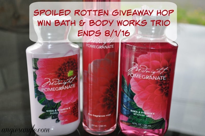 Spoiled Rotten Giveaway Hop - Bath and Body Works