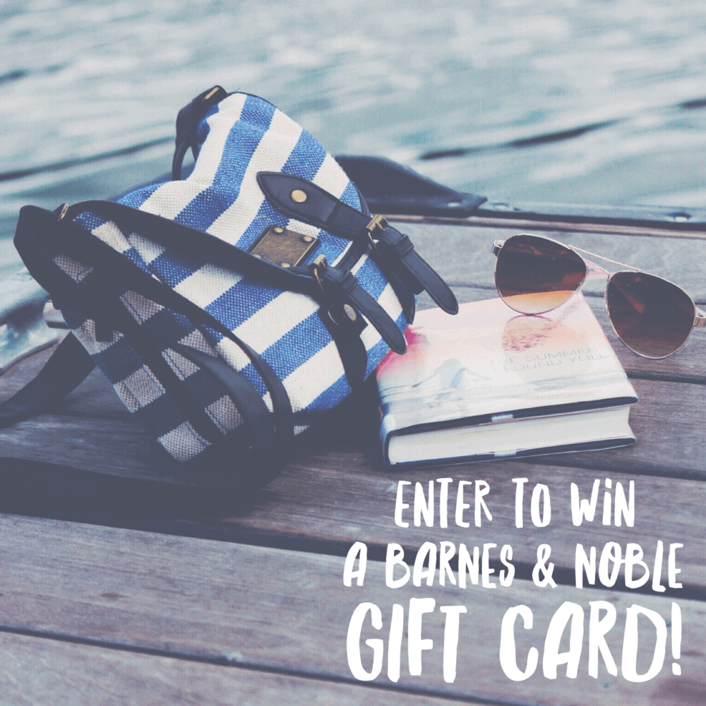 August Barnes and Noble Giveaway ends 9/5/16
