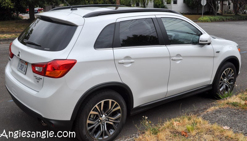 Catch the Moment 366 Week 32 - Day 223 - Test Driving Mitsubishi Outlander Sport