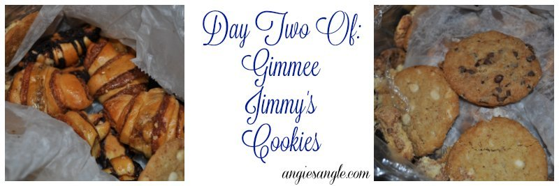Freshness Of Gimmee Jimmys Cookies - Day Two