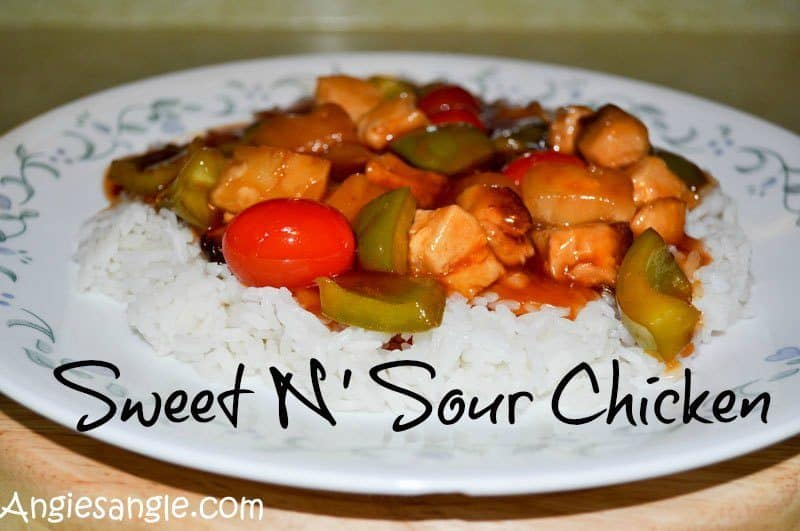 How To Make A Comfort Food of Sweet n Sour Chicken - Header