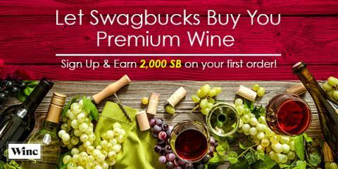 Buy Some Wine Get Some Swagbucks