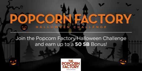 Popcorn Factory Halloween Challenge