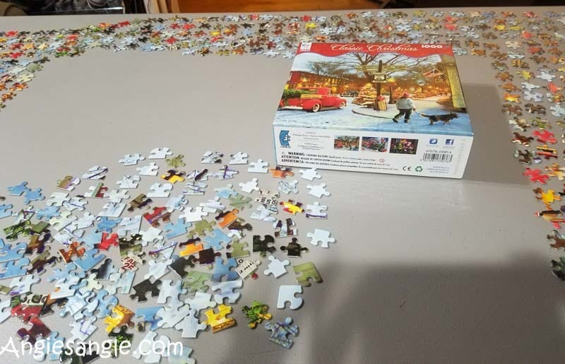 Catch the Moment 366 Week 49 - Day 341 - Jigsaw Puzzle Time
