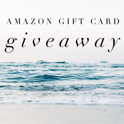 December Amazon Gift Card Giveaway
