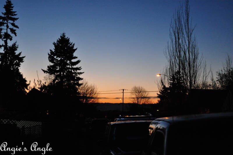 2017 Catch the Moment 365 Week 1 - Day 6 - Winter Sunset