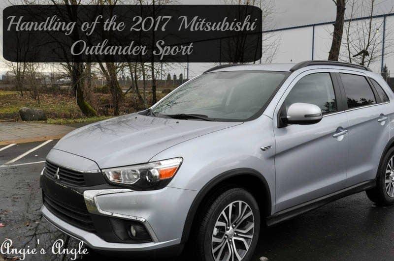 Handling of the 2017 Mitsubishi Outlander Sport-Header