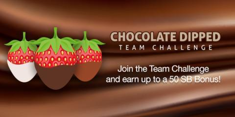 Chocolate Dipped Team Challenge with Swagbucks