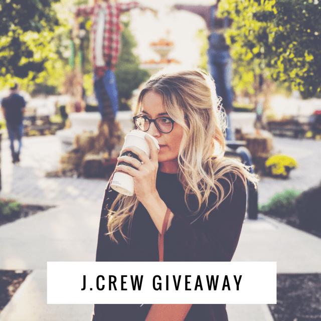 February J Crew Giveaway