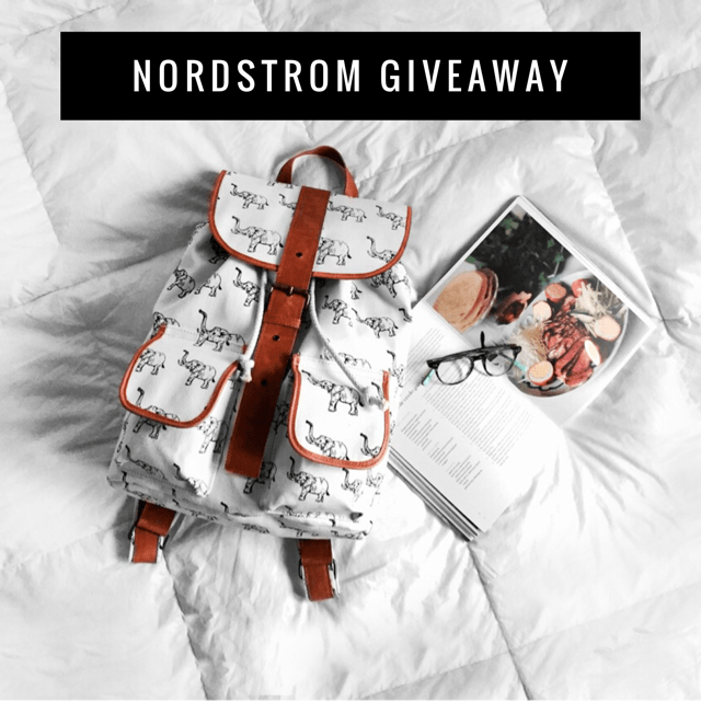 February Nordstrom Insta Giveaway