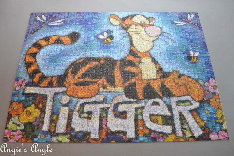 2017 Catch the Moment 365 Week 10 - Day 64 - Tigger Puzzle done